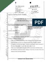 Tia Rowe vs Cremers - Defendant Answers Complain