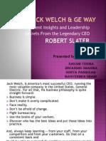 Jack Welch & Ge Way