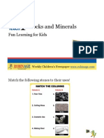 Fun Learning for Kids - Rocks and Minerals