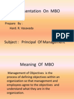 Principal of Management