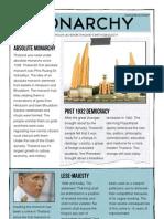Pete's Monarchy Fact Sheet
