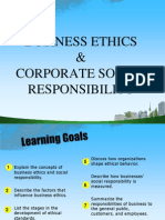 Business Ethics & CSR