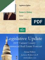 Susan Halsey Lege Update
