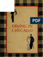 1931 - Dining in Chicago by John Drury by the John Day Company