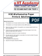 [Final] HSC-Maths Board Question Paper With Solutions