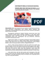 Kepimpinan Transformatif Menuju Wawasan Nasional