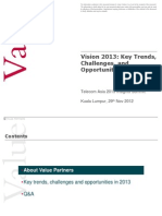 Vision 2013 - Telcom Asia Industry Insights - Presentation 20121228vfinal