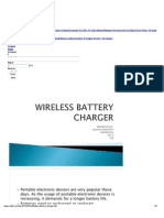 wireless battery