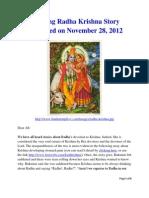 Amazing Radha Krishna Story