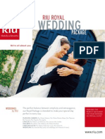 riu wedding package