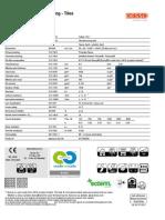 Supira Tech Sheet