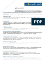 IEEE Computer Society Top Trends for 2013