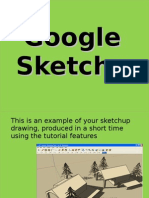 Sketch Up Tutorial Lesson 1