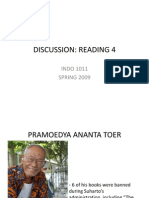 Discussion Reading 4