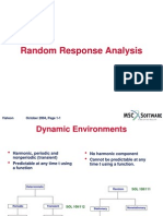 Msc Nastran Random Dynamics