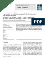 2008_High-Mobility Tetrathiafulvalene Organic Field-effect Transistors