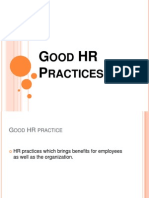 Good HR Practices