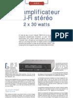 Ampli Hi-Fi stéréo 2 x 30 W