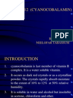 Vitamin b12 (Cyanocobalamin)