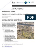 Flyer - New Tyne Crossing