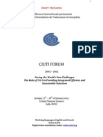 2013 CIUTI Forum - Final programme