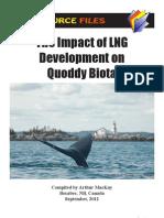 LNG Impacts on Quoddy Biota