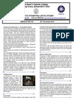 Newsletter 151 30.11.12