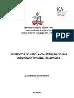 ELEMENTOS DO CÍRIO A CONSTRUÇÃO DE UMA IDENTIDADE REGIONAL AMAZÔNICA
