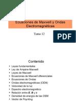 12.- Ecuaciones de Maxwell y Ondas Electromagneticas