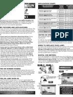 Reptisun FS-C5 Instructions