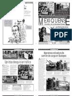 Versión impresa del periódico El mexiquense 30 de noviembre 2012