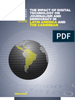 The Impact of Digital Technology on Journalism and Democracy in Latin America and the Caribbean - Knight Center for Journalism in the Americas at the University of Texas-Austin / Open Society Foundations Media Program (2009)