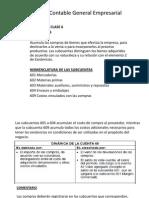 Nuevo Plan Contable Empresarial - Dinamica Clase 6