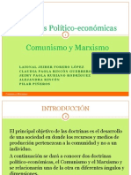 DOCTRINAS POLÍTICO - ECONOMICAS