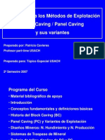 Curso Block Caving & Panel Caving ( P Cavieres 2007)