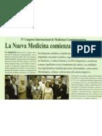 IV Congreso Internacional de Medicinas Complementarias