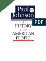 historia de la gente americana