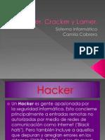 Hacker, Cracker  y Lamer