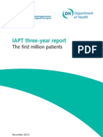 Iapt 3 Year Report