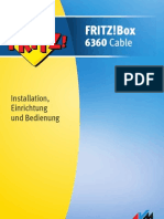 Handbuch FRITZ Box 6360 Cable