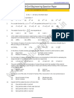 GATE_Civil Engineering Question Paper_2009