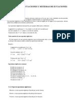 Tema 2 Polinomios y ecuaciones