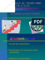 Le Manuel de l'Audit Interne