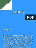 1. ALIMENTOS
