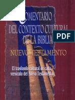 Comentario Del Contexto Cultural de La BIBLIA