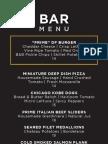 DF Chicago Bar Food Menu 110712