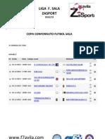 Partidos 2ª jornada Copa Conforauto