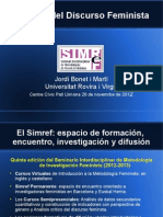 Presentaciń Análisis del Discurso Feminista