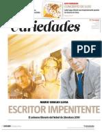 Mario Vargas Llosa, el escritor impenitente. El universo literario del Nobel de Literatura 2010 (Fuente