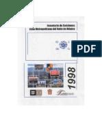 Inventario de Emisiones 1998